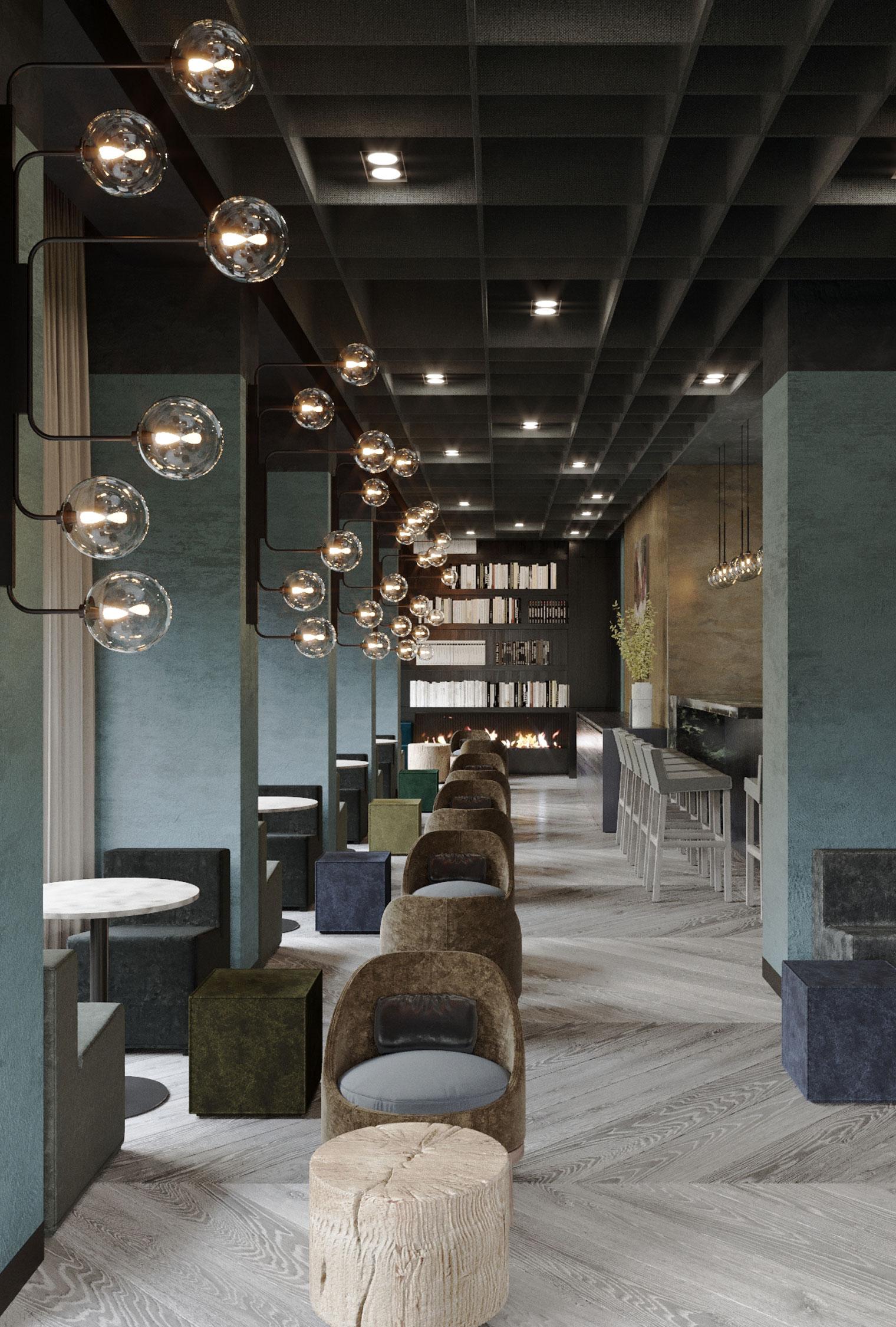 Azimut Hotel Smolenskaya Lounge